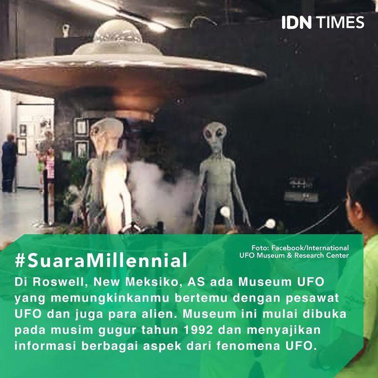 Ditengok dari situs resminya, International #UFO Museum & Research Center, museum UFO ini mulai dibuka untuk umum pada musim gugur tahun 1992. Museum menyajikan informasi mengenai berbagai aspek dari fenomena UFO. Pameran serta perpustakaan lengkap tersedia di sini. . Pamerannya berisi tentang Insiden Roswell, crop circle, penampakan UFO, Area 51, hingga astronot di masa lalu. Pajangan berbentuk #alien serta UFO pun banyak diletakkan di berbagai sisi #museum. . Museum UFO tersebut tidak…