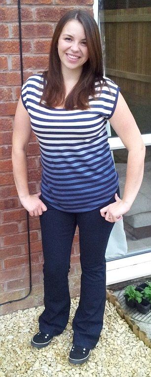 Jessica Smith spurred herself on by taking selfies every day #cambridgeweightplan