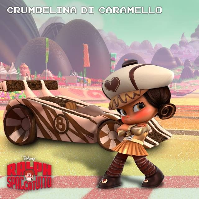 #RalphSpaccatutto Character Rollout  Crumbelina