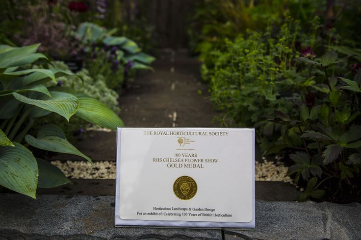 RHS Chelsea Gold Award for the Horticolous Landscape and Garden Design garden featuring our Solardome® glasshouse