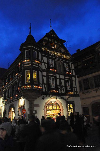 Promenade en image au marché de Noël de Kaysersberg, petit village situé sur la Route des Vins d'Alsace