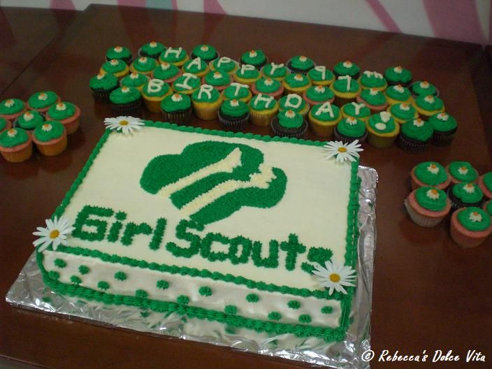 Cake Ideas For Girl Scouts : 1000+ images about Girl Scout Cake Ideas on Pinterest ...
