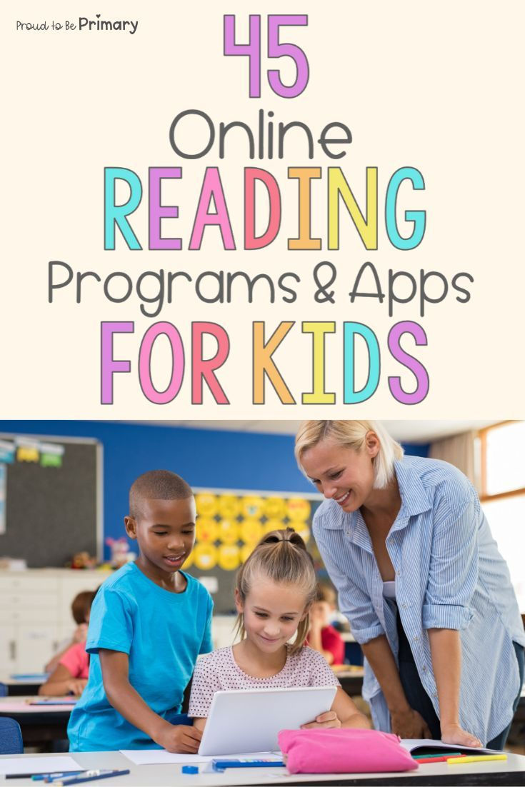 Online Reading For Kids Best Programs And Apps Proud To Be Primary Online Reading For Kids Reading Programs For Kids Online Reading Programs First grade reading programs online