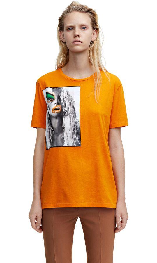 Vista portrait portrait print curry orange