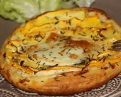 Tartes fines courgettes boursin (facile, rapide) - Une recette CuisineAZ