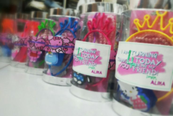 Goodie bags for little princesses, created by me :)