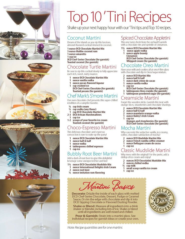Martini Recipes Visit my website to get your DCD ingredients: http://www.mydcdsite.com/AndreaDiTonno