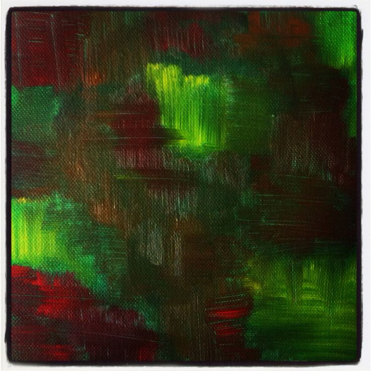 Abstract painting by Ema Caciulan