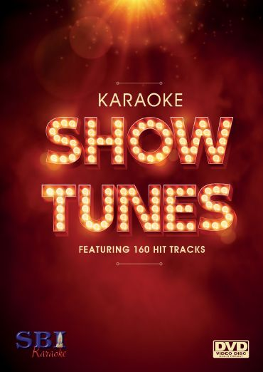 SBI Karaoke Presents The Show Tunes Collection DVD