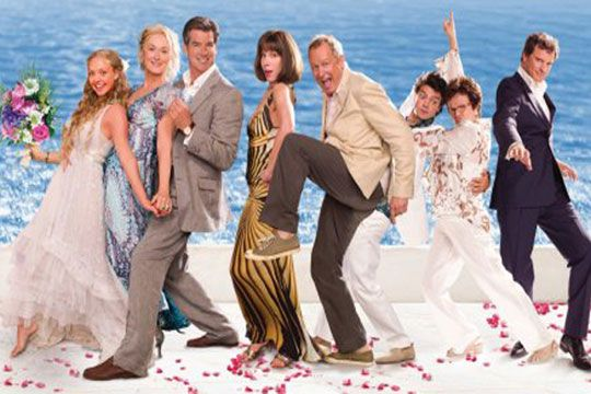 Mamma Mia, it doesn't matter how many times I see this movie it never gets old!