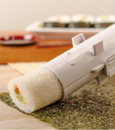 Achetez votre bazooka à sushi pour enfin réaliser vos makis, sushis et california en express et sans aucune difficulté.