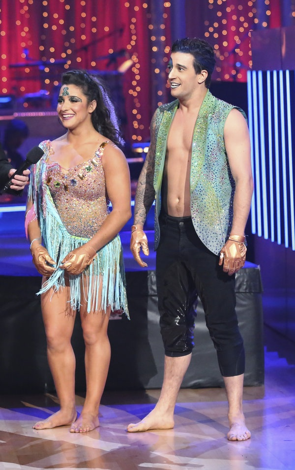 Dancing with the Stars Season 16 Week 10 Aly R and Mark Ballas