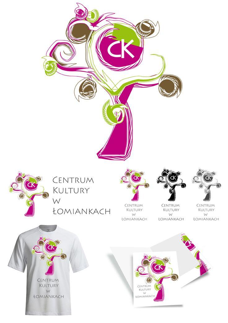 Prezentacja logo CK w Łomiankach #logo #konkurs #jarlew75 #Łomianki # logotyp