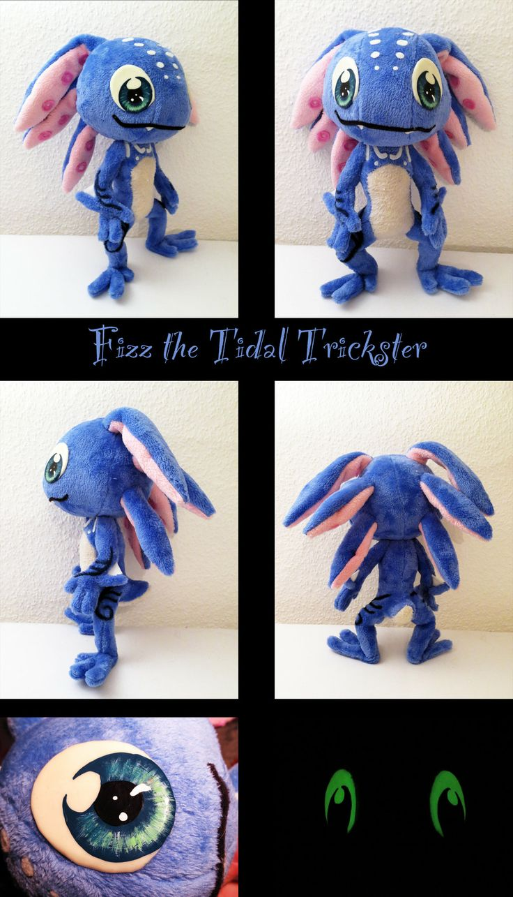 Fizz plush by nfasel.deviantart.com on @deviantART Looks exactly as in the game! #LoL #geek #craft