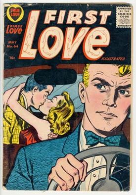 "Love vintage ""Romance Comics"""
