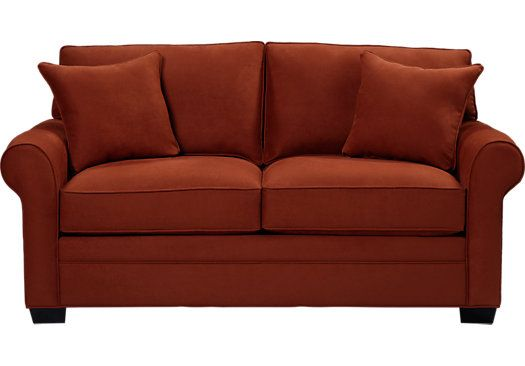 Picture Of Cindy Crawford Home Bellingham Copper Sleeper Loveseat From Sleeper Loveseats