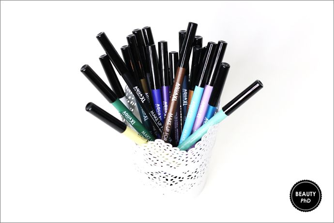 MAKE UP FOR EVER x Charli XCX : Aqua XL Eye Pencil Collection [Review]