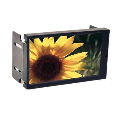 2 DIN 6.95 Inch LED Touch Screen Monitor with VGA for Car PC , Double DIN VGA Car Display with AV2 Reverse Camera First US $118.95 /piece To Buy Or See Another Product Click On This Link  http://goo.gl/EuGwiH