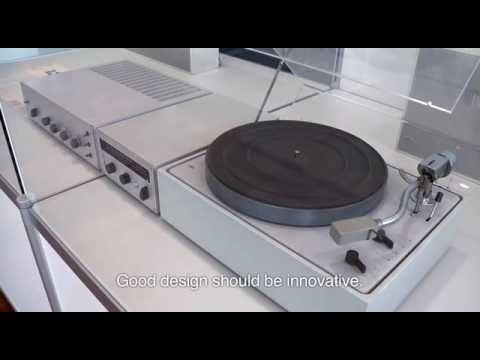 """Los principios del """"buen diseño"""" de Dieter Rams"""