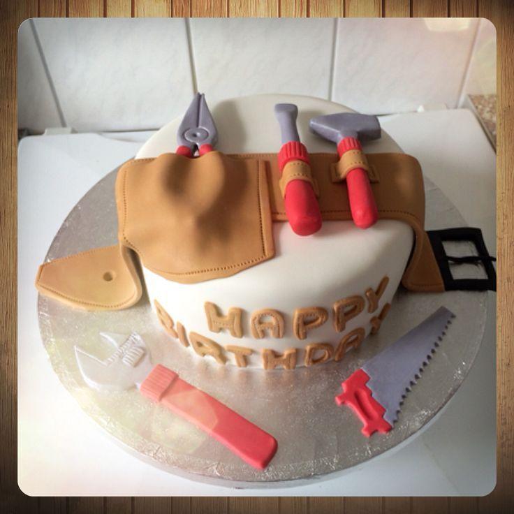 Handwerker-Torte / Handwerker-Torte / Werkzeug / Werkzeuge – # – #HandwerkerTo…
