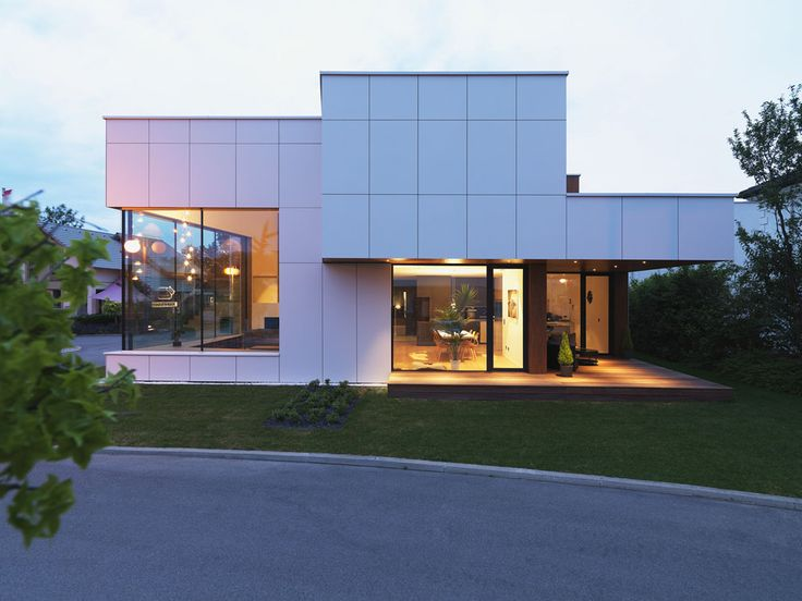 Prefabricated House Design in Vienna Embraces Transparency - http://freshome.com/prefabricated-house-design-vienna-embraces-transparency