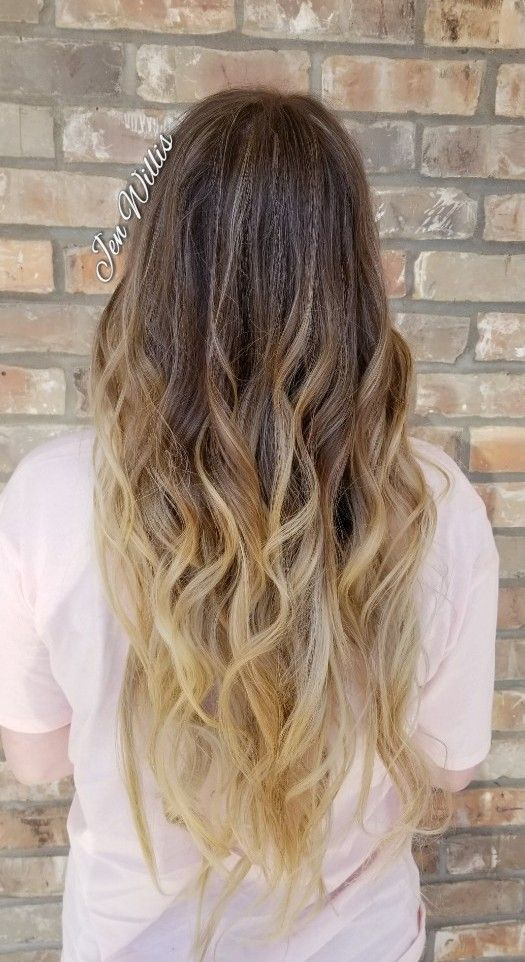 Babylights Ombre Balayage Blonde Hair Salon Platinum Conway Ar