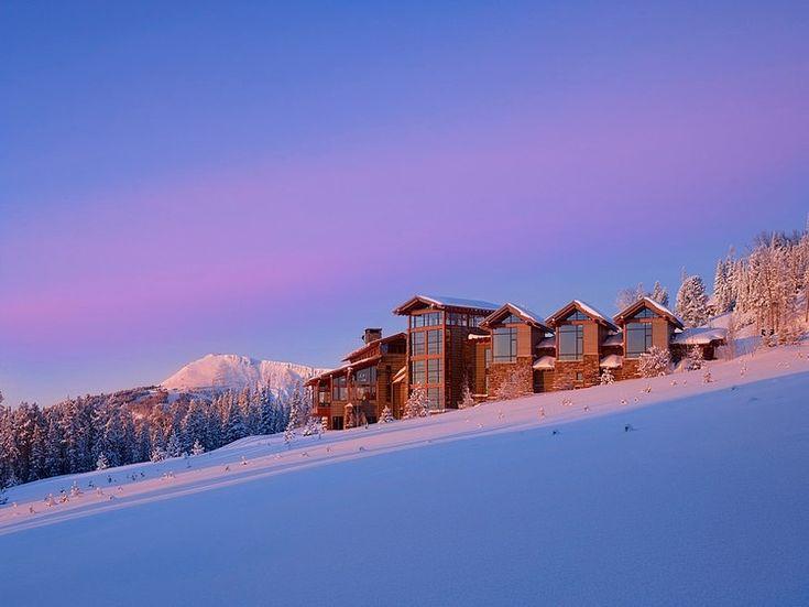 Yellowstone Club Residence by Krannitz Gehl Architects