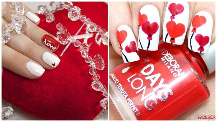 unghie, nail art unghie, nail art gel, unghie san valentino, nail art san valentino, franch nail art, nail art semplici, french, gel unghie, nail art 2016, tutorial nail art, nails art