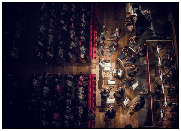 Veduta aerea - Aerial View | Suonando Chaplin | Orchestra della Toscana | 25 aprile 2014