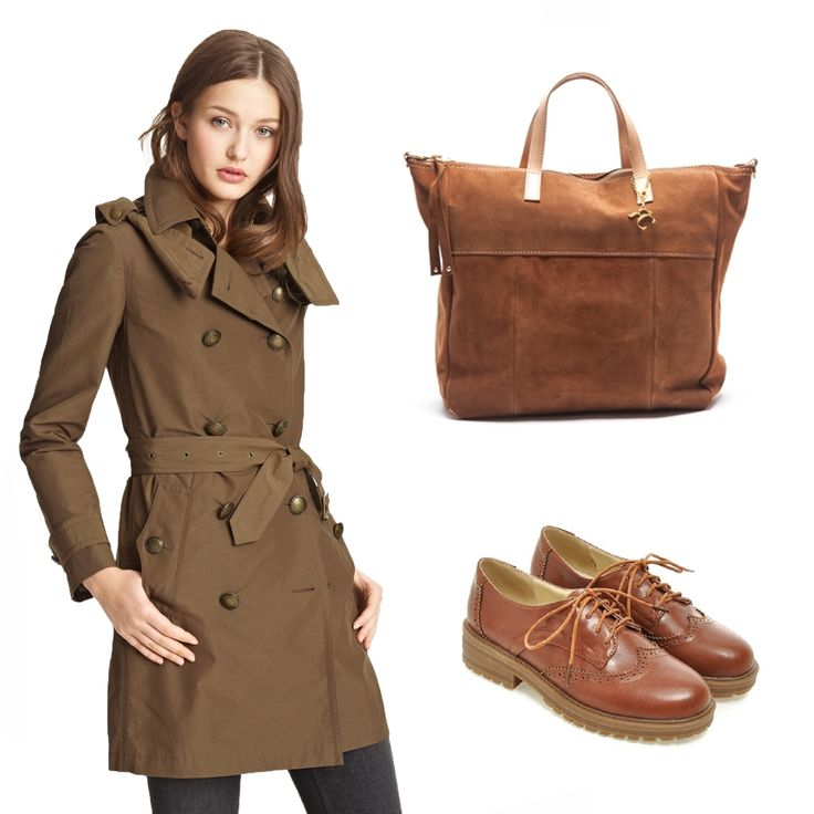 #OOTD: Wear fall's colors and this #RenataCorsi leather bag!