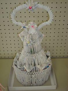 3D Origami - Wedding Cake