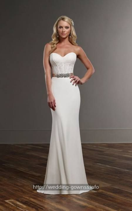Blue wedding gowns embroidery - essence wedding dresses.Classic wedding gowns timeless 4013702983