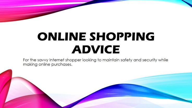 As online shopping becomes more popular it is important to exercise safety precautions to make this new American pastime rewarding, problem free and our efforts to save both time and money an excursion we will surly duplicate repeatedly with confidence. Webpage - http://shopsecurely.blogspot.com/