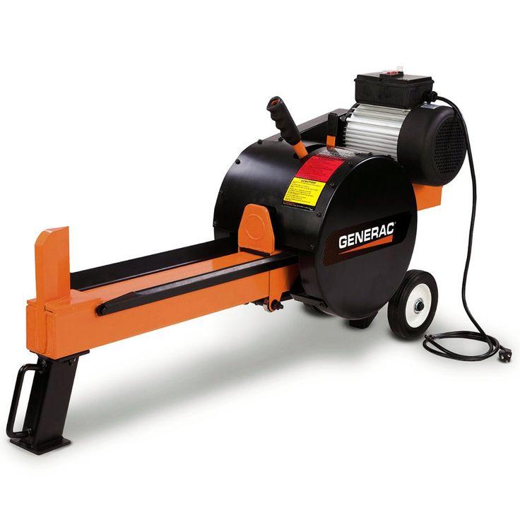 Generac 10-Ton Kinetic Electric Log Splitter