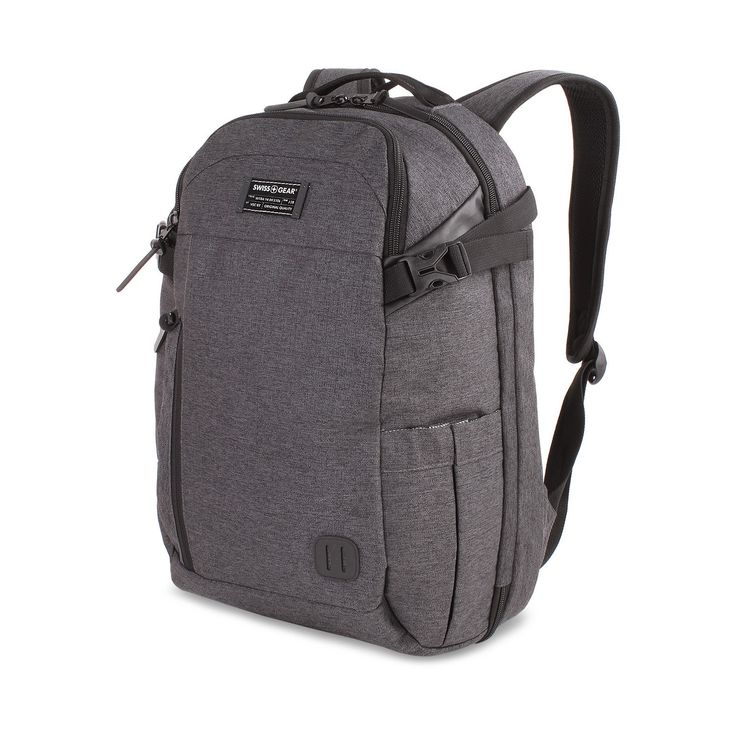 """Introducing the Getaway Collection by SwissGear.  Bags you can pack your entire weekend into.  The Getaway Weekend Backpack is the perfect travel backpack.  In addition to the features you've come to expect in a travel backpack, it zips open like a suitcase to easily utilize the seperate clothing compartment.  Additional features: <br>• Padded laptop compartment designed to fit most 15"""" portable computers<br>• Built-in Add-A-Bag panel strap designed to f..."""
