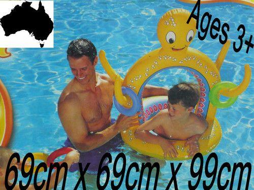 Pool Toy Float Octopus Surf & Sun Vinyl Inflatable Rings Game Kids Water Bestway https://www.facebook.com/EmporiumDownunder/app_149115948441659
