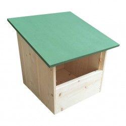Cassetta nido in legno per tortore TYOGA