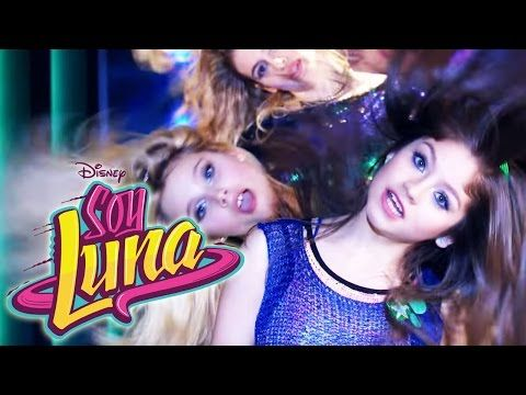 """Soy luna-El equipo de luna patina """"un destino """" - YouTube"""