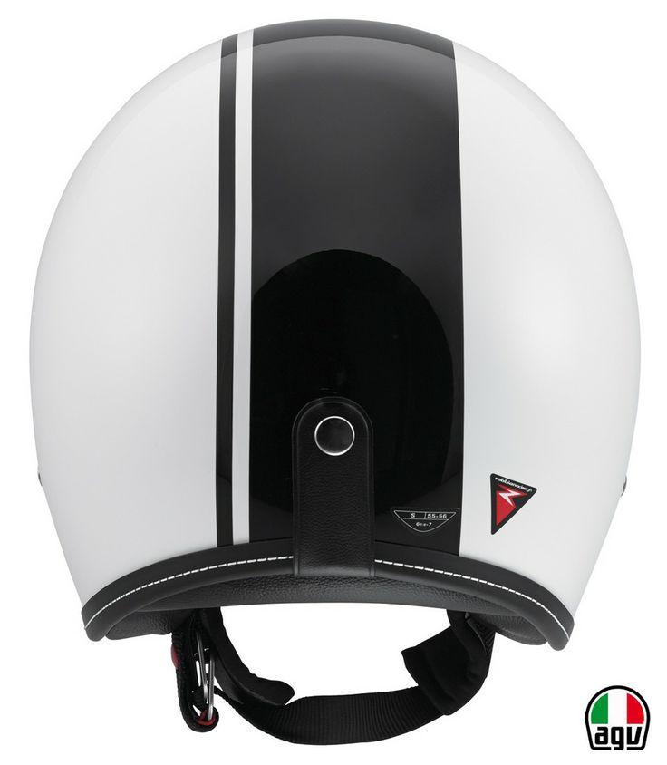 AGV RP60 - Royal White/Black