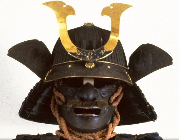 how to make a japanese samurai helmet