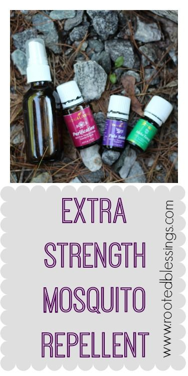 Extra Strength Natural Mosquito Repellent