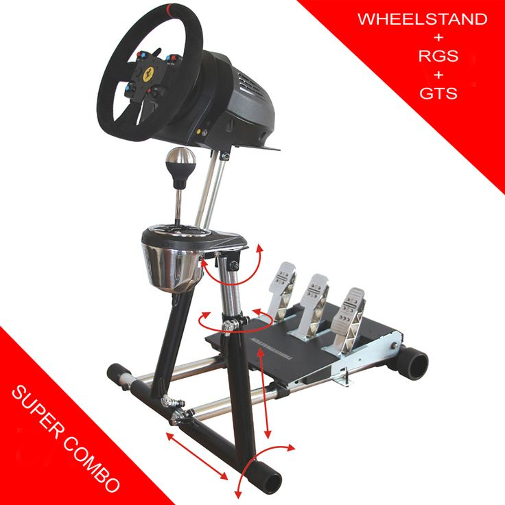 Wheel Stand Pro for Thrustmaster T300RS/TX/T150/TMX + RGS +GTS - Product - Wheelstandpro