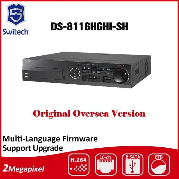 906.00$  Watch now - http://alirhc.shopchina.info/go.php?t=32782030151 - HIK DS-8116HGHI-SH 16CH 8SATA H.264 720P Turbo HD DVR Support HD-TVI/analog/IP camera triple hybrid DVR 906.00$ #aliexpressideas