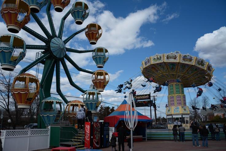 Perfect View Of Adventureland Long Island Ferriswheel