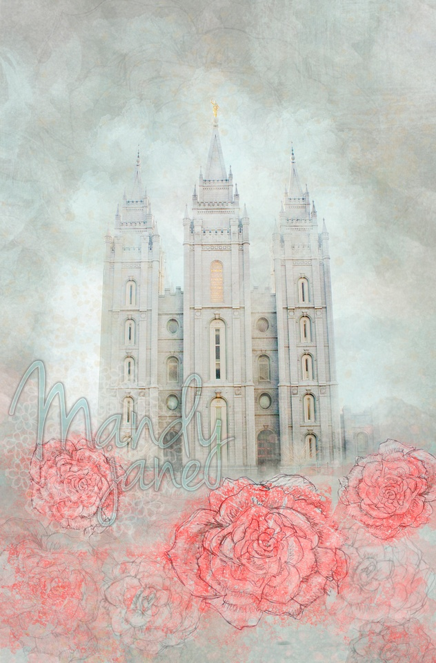 New Salt Lake Temple Picture