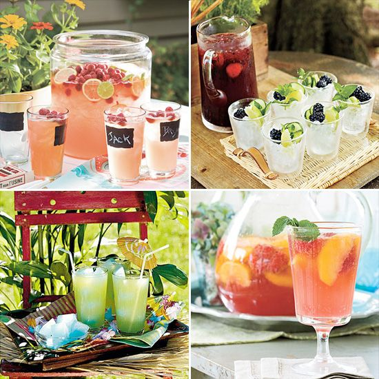 Refreshing Drinks for Summer Parties - Wedding Edibles - wedding desserts and goodies - unique daily wedding blogs from Best Wedding Sites for brides & grooms