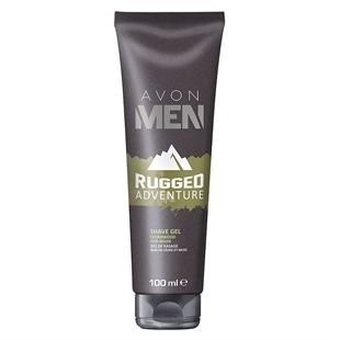 Avon Men Rugged Adventure Shave Gel, just what he needs! Campaign 9