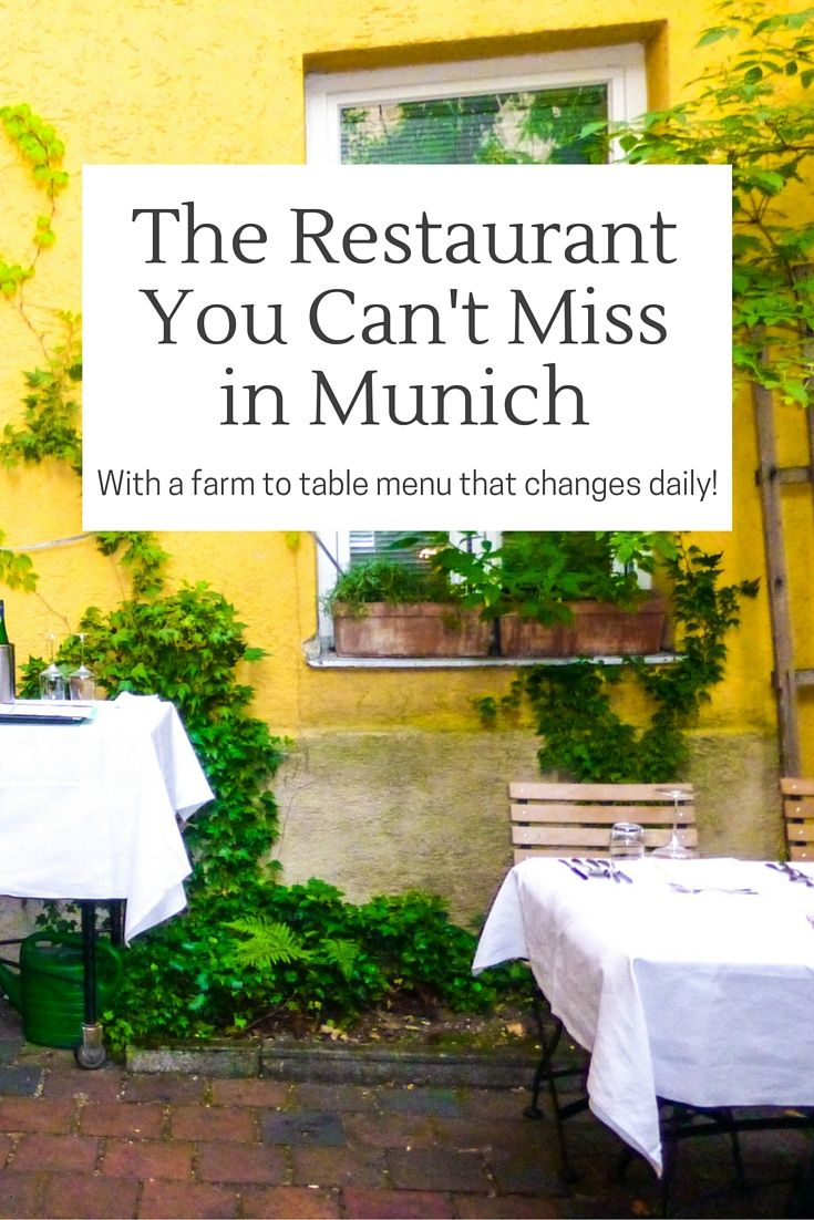 The menu changes nightly at this incredibly delicious restaurant in Munich. Find out what else makes this restaurant special and why you don't want to miss eating at Broeding while in Munich, Germany.