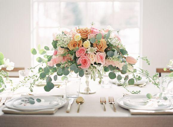 Best 25 peach weddings ideas on pinterest peach wedding colors glamorous blush emerald and peach wedding ideas junglespirit Gallery