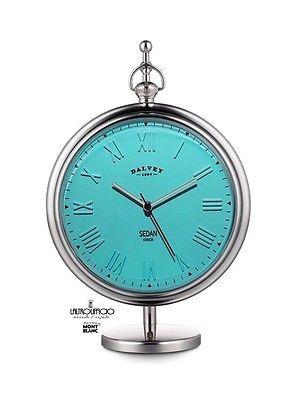 DV3334 DALVEY - SC 10% - OROLOGIO NEW  SEDAN CLOCK TURCHESE